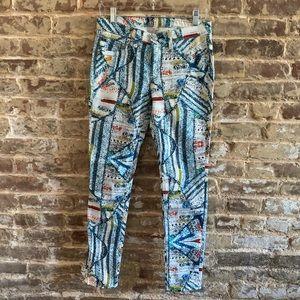 rag & bone Multicolored Graphic Pants
